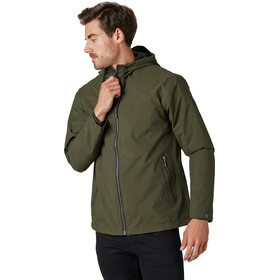 Helly Hansen Urban Veste imperméable Homme, forest night